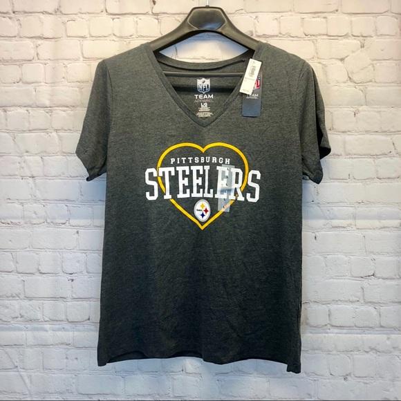824287ad NWT NFL Team Apparel Pittsburgh Steelers Shirt NWT